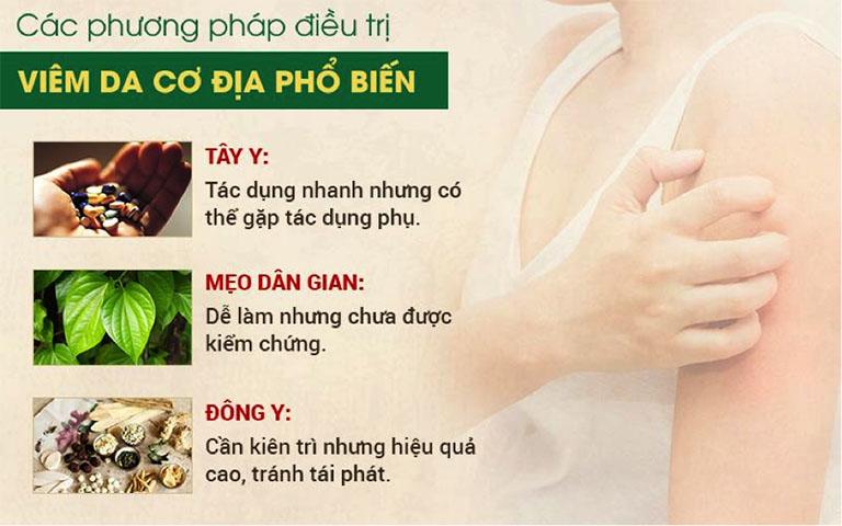 3 phương pháp điều trị viêm da cơ địa phổ biến