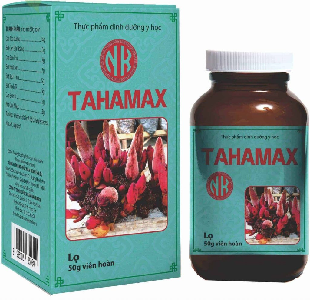 Sản phẩm Tahamax Nk tăng cường sinh lý, bổ thận tráng dương đối với nam giới yếu sinh lý, tinh trùng kém