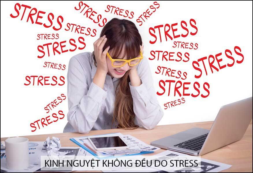 Stress gây rối loạn kinh nguyệt