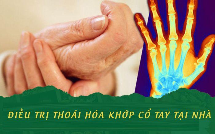 Cách điều trị tay tại nhà