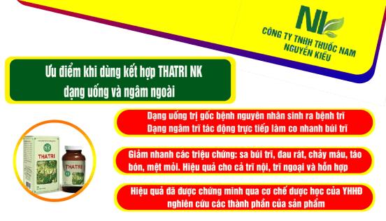 Tại sao nên sử dụng sản phẩm THATRI NK của thuốc nam Nguyễn Kiều?