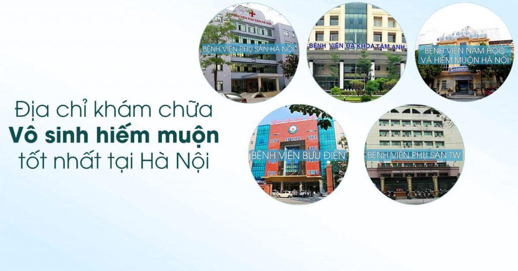 Chữa vô sinh nam ở Hà Nội