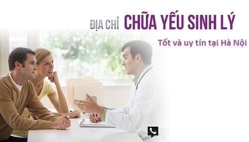 Địa chỉ khám yếu sinh lý nữ tại Hà Nội