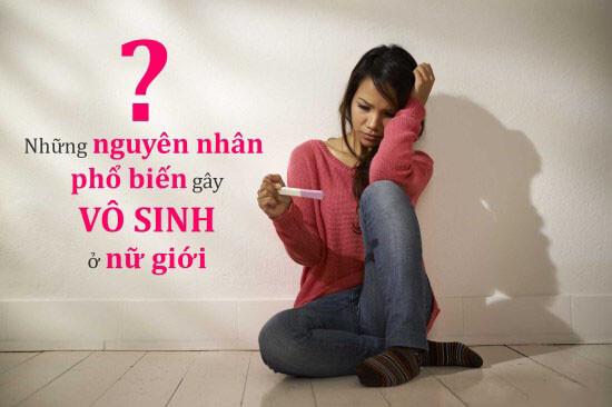 Nguyên nhân gây vô sinh thứ phát ở nữ giới