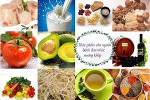 Thoái hóa khớp nên ăn gì?