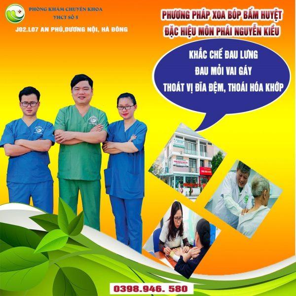 Phương pháp xoa bấm huyệt đặc hiệu theo môn phái Nguyễn Kiều
