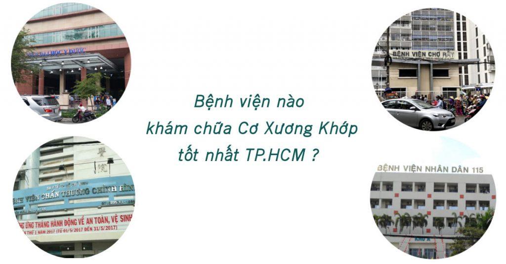 Bệnh viện khám chữa cơ xương khớp tốt nhất TP.HCM