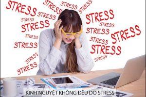 Ảnh hưởng của căng thẳng đối với chu kỳ kinh nguyệt của nữ giới