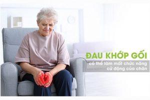 Ảnh hưởng của đau khớp gối đối với cuộc sống người cao tuổi
