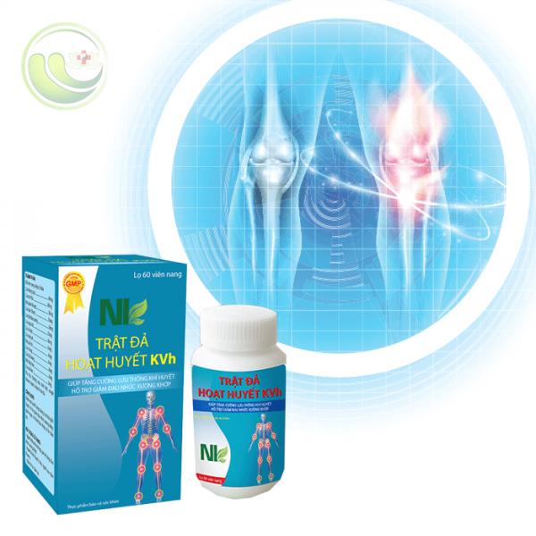 Trật Đả Hoạt Huyết KVh hỗ trợ điều trị bệnh xương khớp