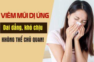 Phân biệt bệnh viêm mũi dị ứng và viêm mũi bình thường & cách chữa trị