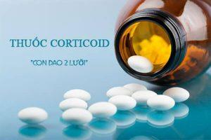 Thuốc điều trị viêm khớp dạng thấp - Thuốc Corticoid